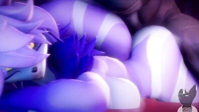 Подборка сочных кадров из эротических 3D-мультфильмов для истинных фурри