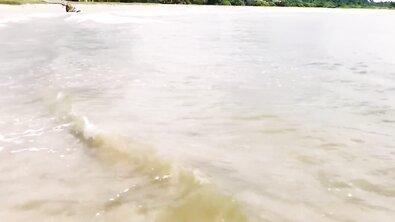 Жопастая индианка седлает хуй на пляже Шри-Ланки